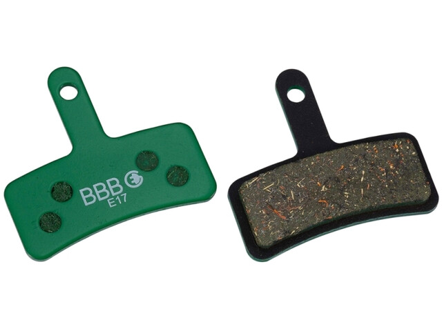 BBB DiscStop BBS-78E E-Bike Disc Brake Pads Tektro, green
